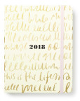 Kate Spade 2018 17 Month Diary, Medium, This is the Life