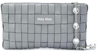 Miu Miu Interwoven Double-Strap Bag