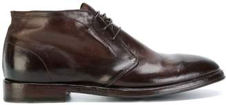 Alberto Fasciani polished lace-up shoes