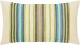 Elaine Smith Multi-Stripe Lumbar Sunbrella Pillow