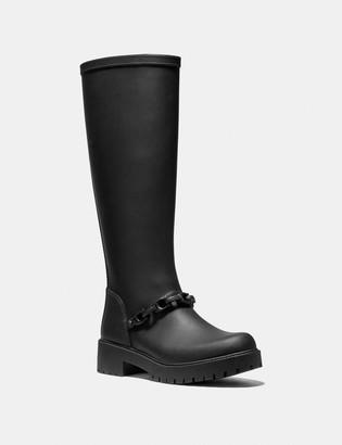 Coach Westerly Tall Rain Boot