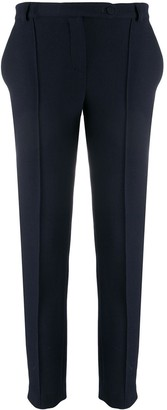 Styland Cropped Slim-Fit Trousers