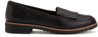 Clarks Griffin Kilt Leather Loafers