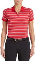 Golf Canada Womens Striped Polo