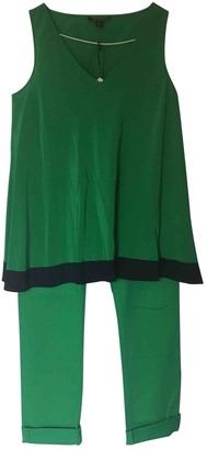 Ralph Lauren Green Silk Top for Women Vintage