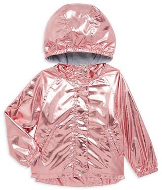 Hatley Little Girl's Girl's Metallic Raincoat