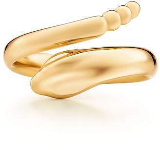 Tiffany & Co. Elsa Peretti Snake ring in 18k gold - Size 6