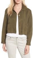 Eileen Fisher Petite Women's Crop Twill Jacket