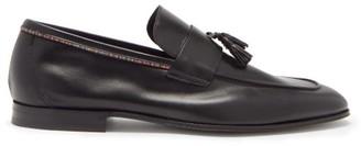 Paul Smith Hilton Signature-stripe Tasselled Leather Loafers - Black