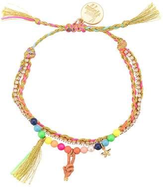 Venessa Arizaga Peace Babe beaded bracelet