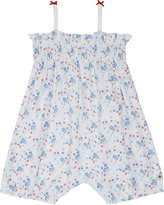 Petit Bateau Printed cotton short-all 0-24 months