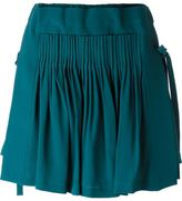 No.21 pleated mini skirt - women - Silk/Acetate - 40