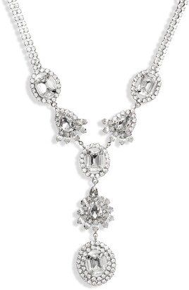 CRISTABELLE CHRISTABELLE Crystal Y-Necklace