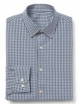 Gap Supima cotton gingham standard fit shirt
