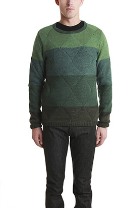 Remi Relief Wool Boarder Layer Crew