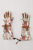 Womanswork Floral Twill Garden Gloves