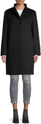 Cinzia Rocca Wool Blend Walking Coat