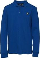 Lyle & Scott Boys Classic Long Sleeve Polo Dark Blue