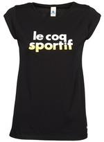 Le Coq Sportif APRES-SPORT LOGO Daruta Tee SS W Black