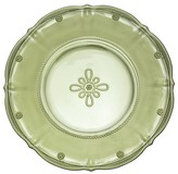 "Juliska Colette"" Hand Pressed Glass Dessert Plate, Plum"