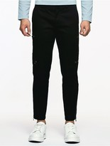 Calvin Klein Platinum Ribbed Biker Pants