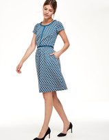 Boden Clementine Jacquard Dress