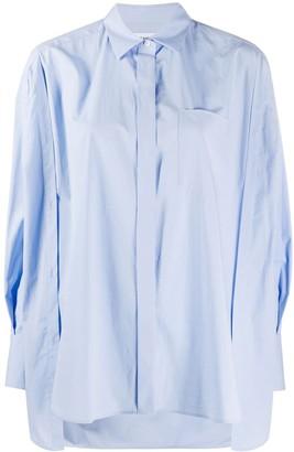 Enfold Somelos oversized shirt