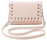 Charlotte Russe Whipstitch Crossbody Bag