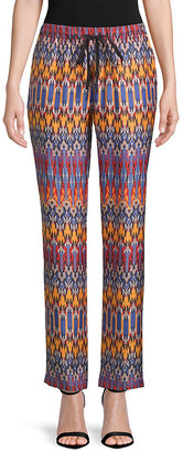 Robert Graham Vita Woven Silk Pant