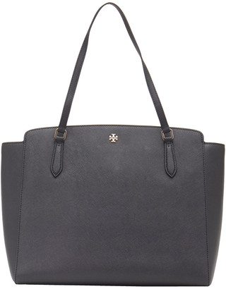Tory Burch Emerson Top Zip Leather Tote