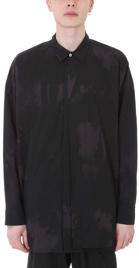 Damir Doma Siro Black Cotton Shirt
