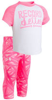 Under Armour Baby Girls Two-Piece Printed Tee and Leggings Set