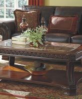 Signature Design by Ashley Brown Ledelle Rectangular Coffee Table
