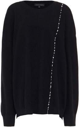 Ann Demeulemeester Embroidered Wool Sweater
