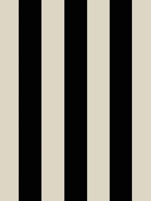 House of Hackney Mono Stripe Wallpaper