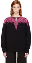 Marcelo Burlon County of Milan Ssense Exclusive Black and Pink Pachan Sweatshirt