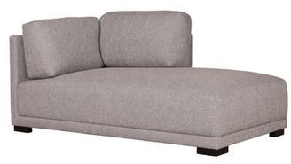 Ivy Bronx Lagrone Chaise Right Grey