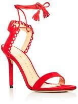 Charlotte Olympia Salsa Ankle Tie High Heel Sandals
