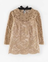 Boden Luxe Lace Top