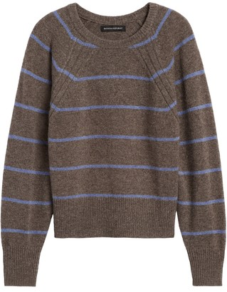 Banana Republic Merino-Blend Dolman-Sleeve Sweater