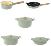 Berghoff RON Cast Iron 8pc Cookware Set, Green