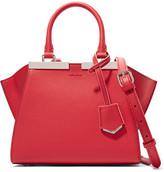 Fendi 3jours Small Leather Shoulder Bag - Red