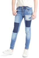 Gap 1969 Patchwork High Stretch Super Skinny Jeans