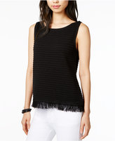 Tommy Hilfiger Fringe Shell, Only at Macy's