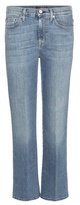 7 For All Mankind Cropped Boot-cut Jeans