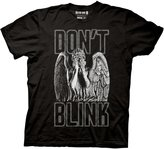 Doctor Who Blink Weeping Angel Covering Eyes T-shirt