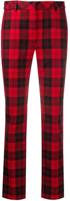 Mulberry Lucie tartan trousers