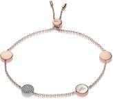 Emporio Armani Signature Rose Goldtone Bracelet w/Charms