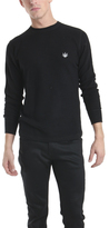 Lucien Pellat-Finet Thermal Sweater Leaf in Black