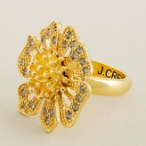 Gilded daisy ring